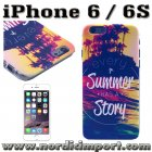 Hardt deksel til iPhone 6 & 6S - Summer Story