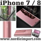 Smart View Etui til iPhone 7 & 8 - ROSA SPEIL