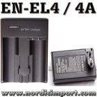 Duo lader til EN EL9 & EL9A D5000D3000, D40, D40X & D60