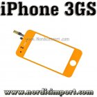 iPhone 3GS Oransje Glass m/ Touch Screen