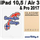 Herdet glass til iPad Air 3 /2019 - 10,5 & iPad Pro 2017