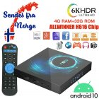T95 6K - Android 10 IPTV Boks/ Media Boks - 4GB / 32GB