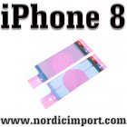 Original Batteri limstriper til iPhone 8 batteri