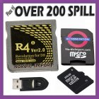 R4i DS GOLD v 2.0 & 8 GB - 3DS v2.103 / DSi & XL v1.4.3 /DS lite