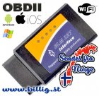 OBDII- WiFi - iPhone, Android , Windows diagnoseverktøy