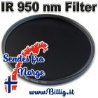 67mm infrarød filter - 950 nm
