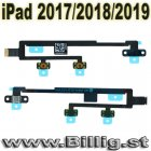Apple Original iPad 2017 / 2018 / 2019 power & volumknapp -kabel