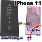 iPhone 11 - 3110 mAh batteri