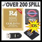 R4 Gold PRO 2020 m/ 8GB - NEW3DS/NEW2DS/2DS/3DS/XL v11.13.0-45E