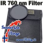 82mm infrarød filter - 760 nm