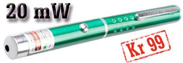 20 mW laserpeker