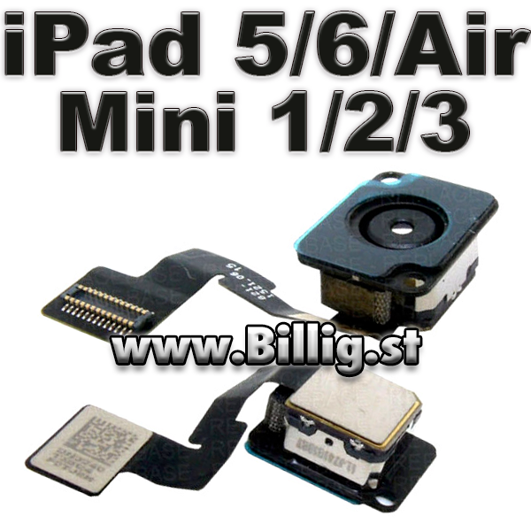 Apple Original Bak kamera til iPad 5 / 6 / Air & Mini 1, 2 & 3