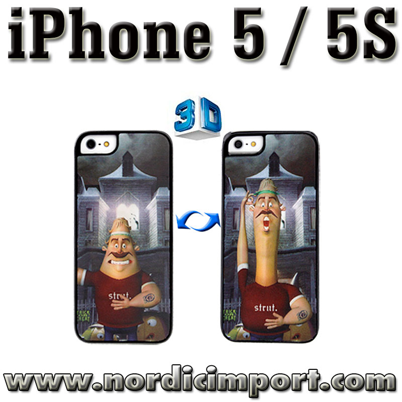 3D deksel til iPhone 5 & 5S