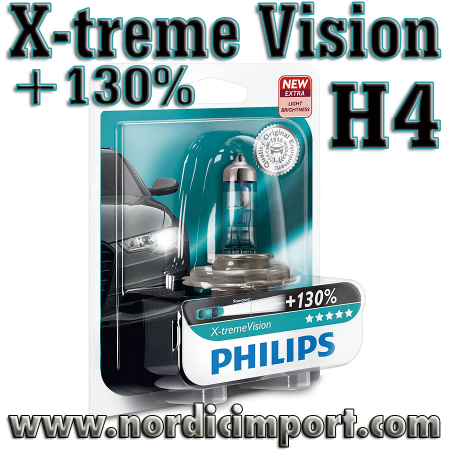 Philips X-treme Vision +130% - H4