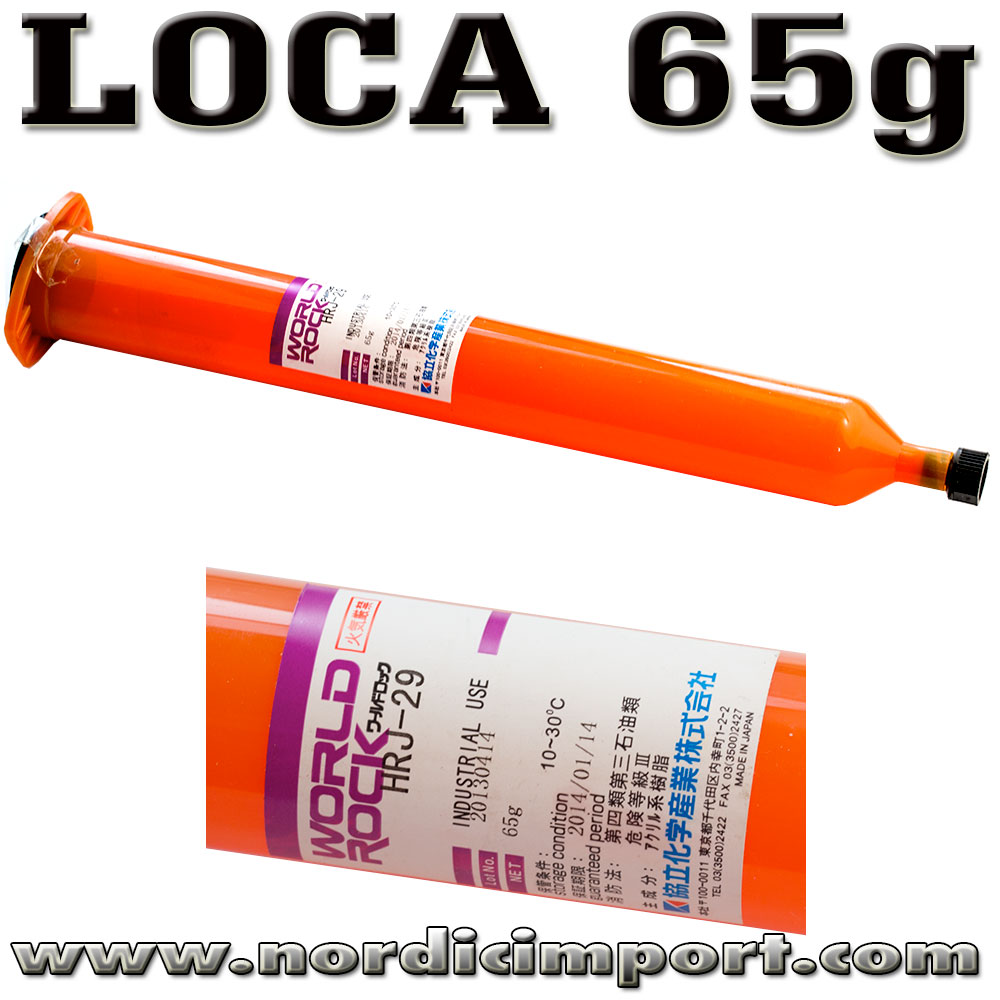 65g LOCA ( Liquid Optical Clear Adhesive ) lim