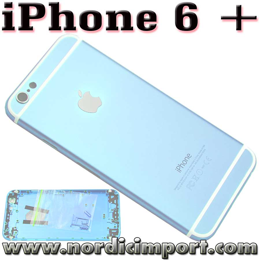 iPhone 6 Plus metall bakdeksel - Baby Bl�tt
