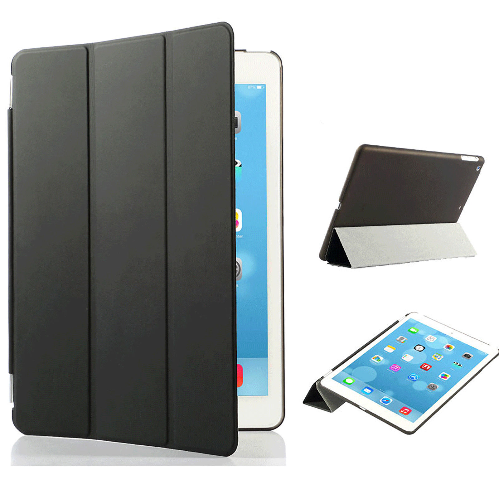 Smart Cover til iPad Air - Svart