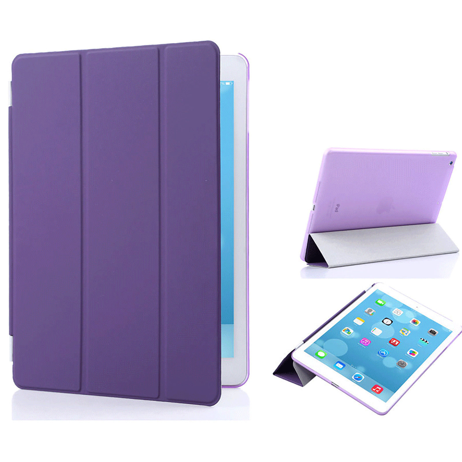 Smart Cover til iPad Air - Lilla