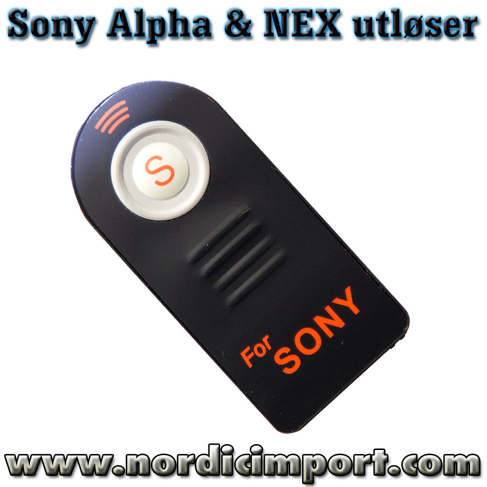 Mini utl�ser for Sony Alpha & Sony NEX
