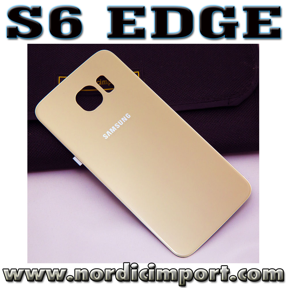 S6 Edge original bakdeksel - GULL