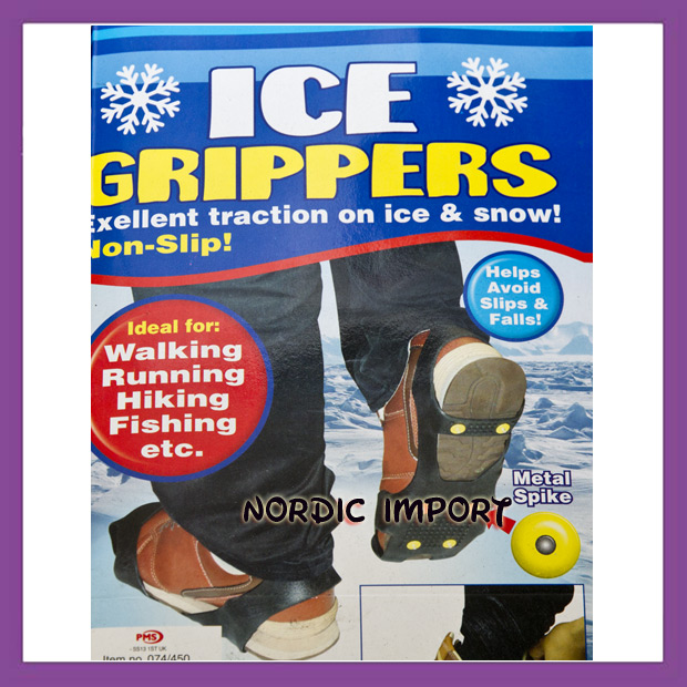 Ice Grippers brodder - Small (inntil 36)