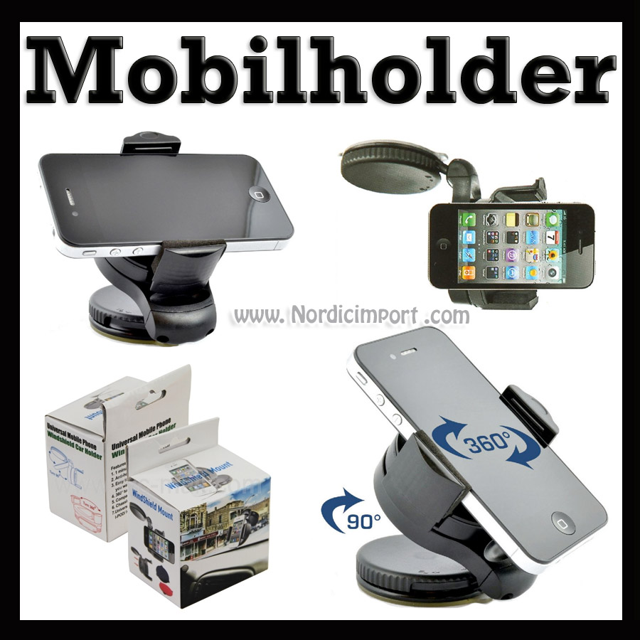 Mobilholder / GPS-holder til bil