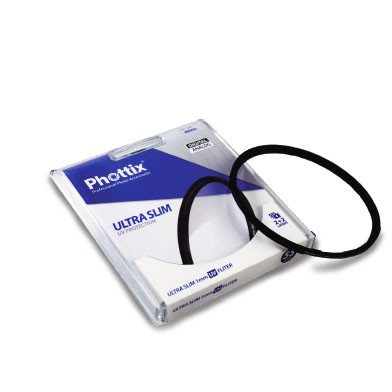 58mm Phottix ULTRA SLIM 1mm UV Filter (4 lags) - Tyskland